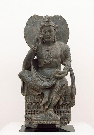 AGNSW collection Maitreya, Buddha of the future 3rd century