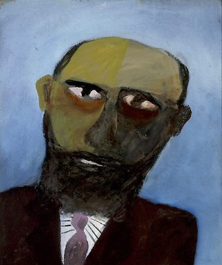 AGNSW collection Sidney Nolan Colonial head 1947