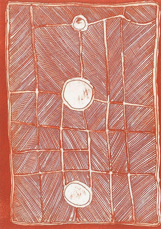 An image of Mardayin ceremonial design