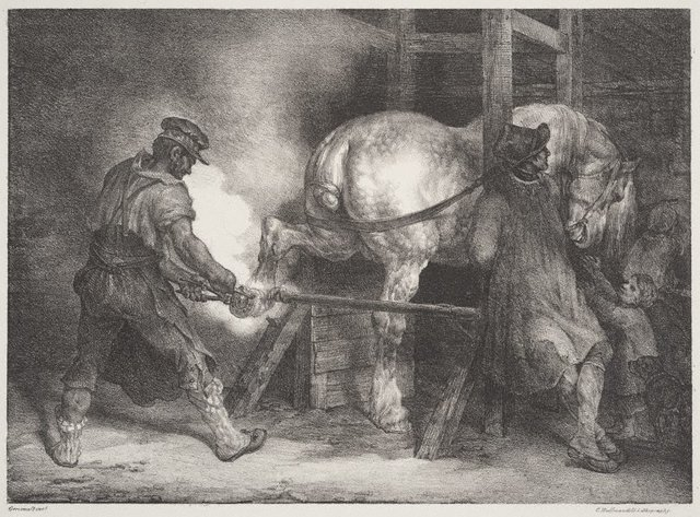 An image of The Flemish farrier