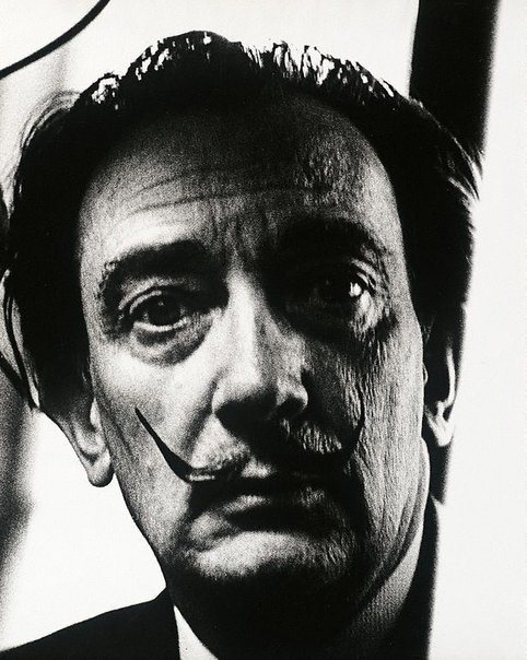 An image of Salvador Dali, London by Lewis Morley