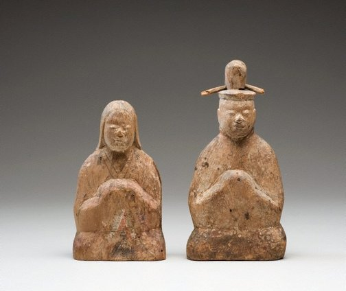 An image of Male and female Shintô deities by Unknown
