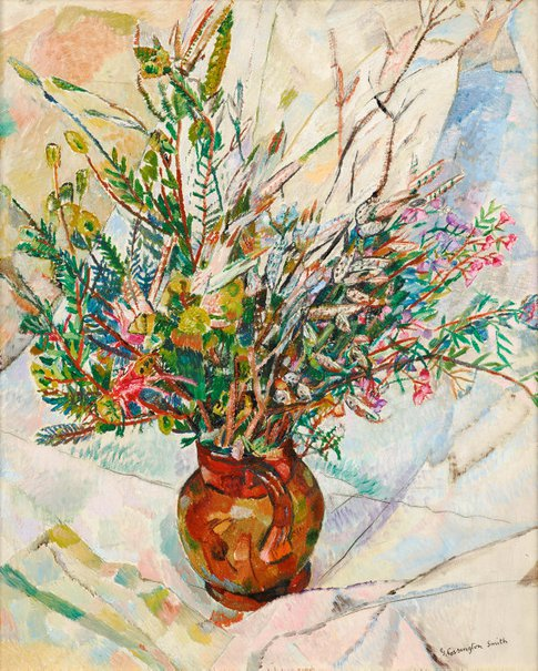 An image of Wildflowers by Grace Cossington Smith