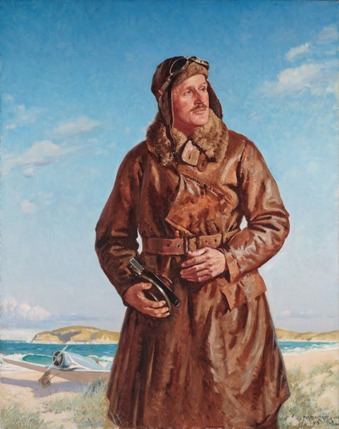 An image of Captain P.G. Taylor by Norman Carter