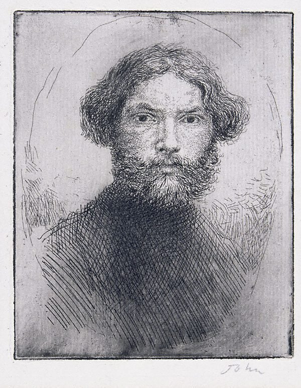 An image of Portrait of the artist