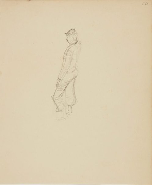 An image of (Slouching man) (Early Sydney period) by William Dobell