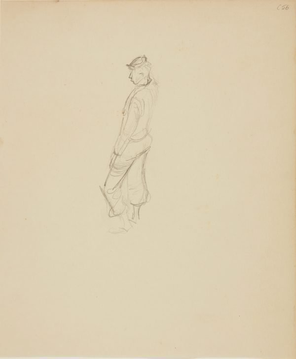 An image of (Slouching man) (Early Sydney period)