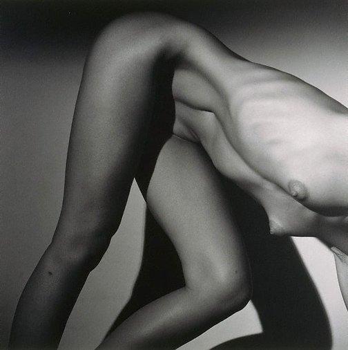 An image of Dancer, New York City by Lynn Davis