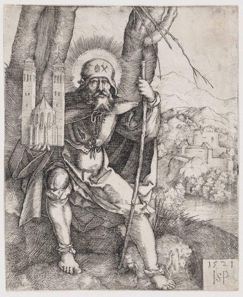 An image of Saint Sebald by Hans Beham