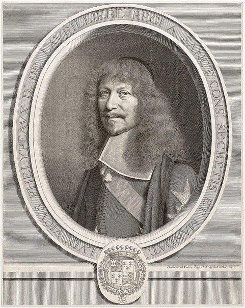 An image of Louis Phélypeaux de La Vrillière by Robert Nanteuil