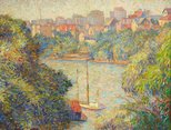 Alternate image of Morning at Cremorne by Dorothy Thornhill