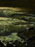Alternate image of The night tide by Julius Olsson