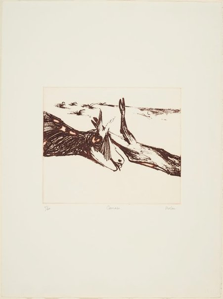 An image of Carcase by Sidney Nolan