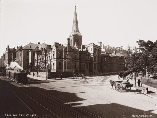 An image of The Law Courts by Unknown, Kerry & Co
