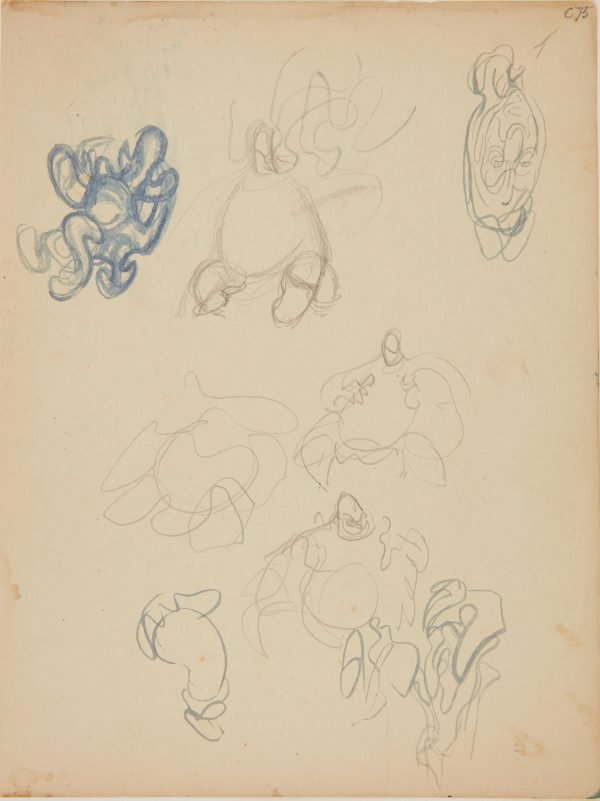 An image of (Abstract figure studies) (Early Sydney period)