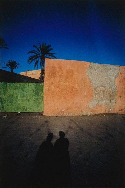 An image of Marrakech by Franco Fontana