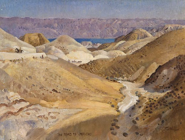An image of The road to Jericho