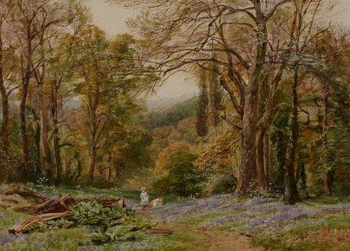 An image of Near Ripley, Surrey by Ebenezer Wake Cook