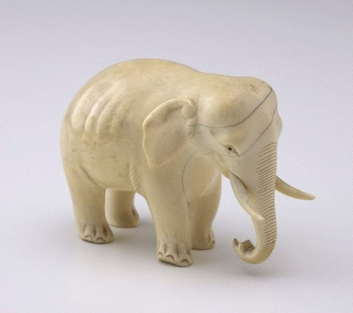 An image of Elephant (okimono) by Unknown