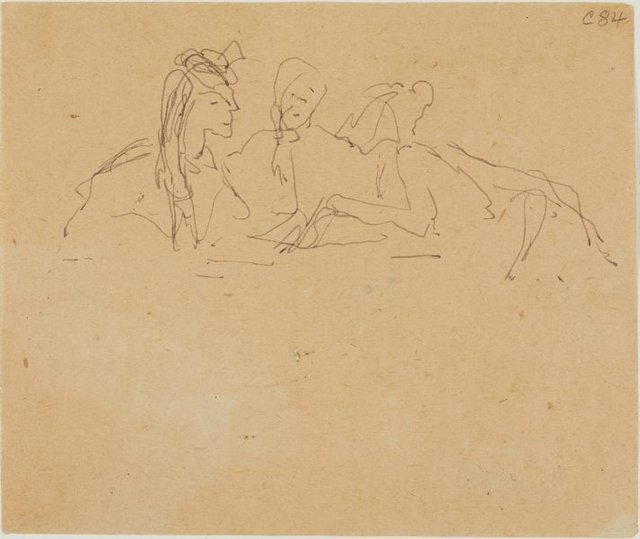 An image of (Three women) (Early Sydney period)