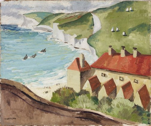 An image of (Coastal view, southern England) by Elaine Haxton