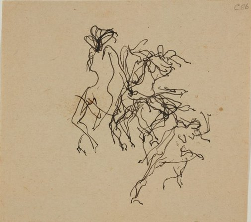An image of (Figures dancing) (Early Sydney period) by William Dobell