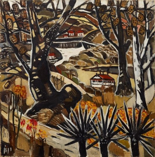 AGNSW collection Margaret Preston I lived at Berowra (1941) 7177