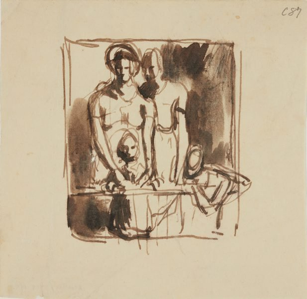 An image of (Group of figures) (Early Sydney period)
