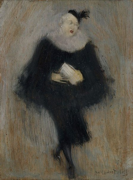An image of The milliner by William Dobell