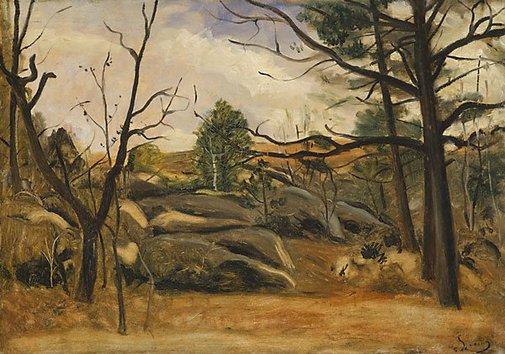An image of Landscape by André Derain