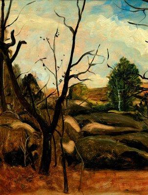 Alternate image of Landscape by André Derain