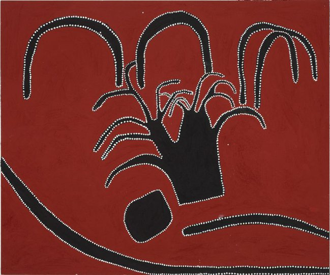 AGNSW collection Timmy Timms Mistake Creek Massacre 2000