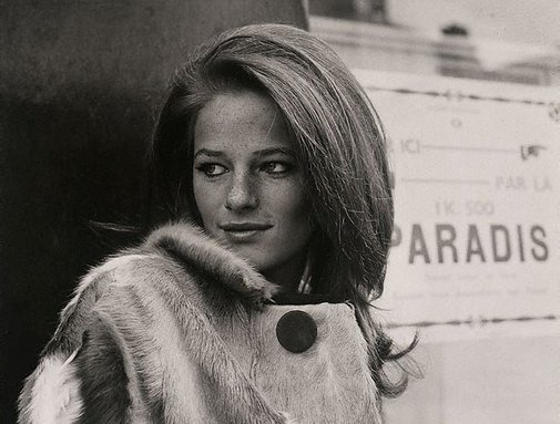 An image of Charlotte Rampling, London by Lewis Morley