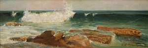 The wave, (1901) by Julian Ashton