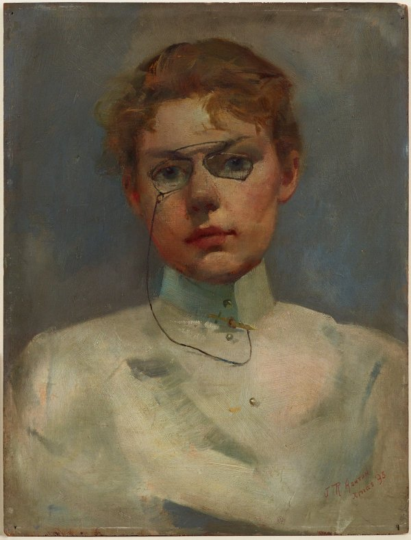 An image of Study of Alice Muskett