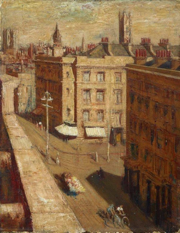 An image of Street scene, Pimlico