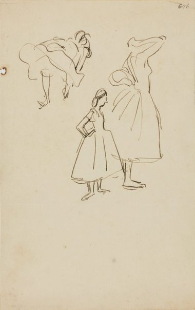 An image of (Dancers) (Early Sydney period) by William Dobell
