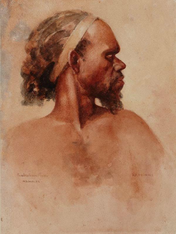An image of Aboriginal man