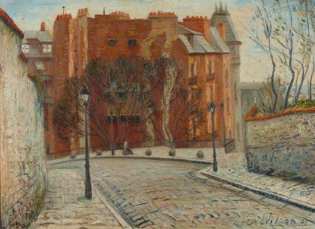 An image of Rue de la Bonne, Montmartre, Paris
