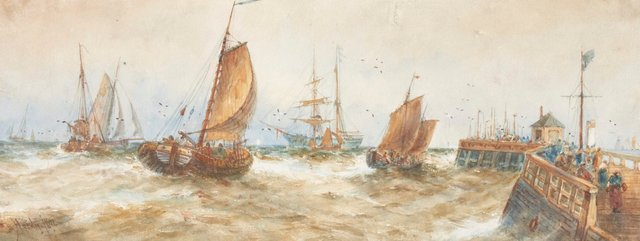 An image of Harbour scene