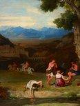 Alternate image of An antique rural scene by Sir Charles Lock Eastlake