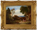 Alternate image of An antique rural scene by Sir Charles Lock Eastlake