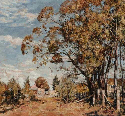 An image of Landscape by James Muir Auld