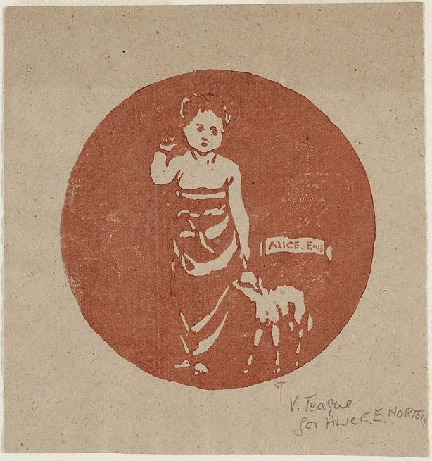 An image of Child and lamb