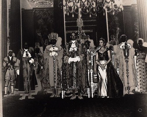An image of Lord mayor's banquet, London by Lewis Morley