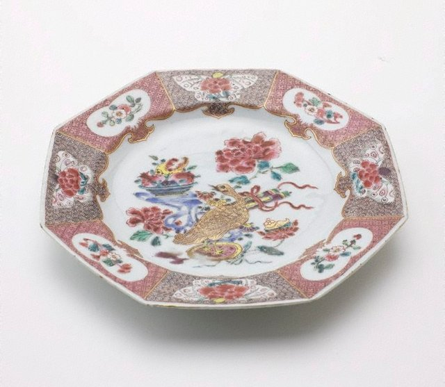An image of Octagonal plate