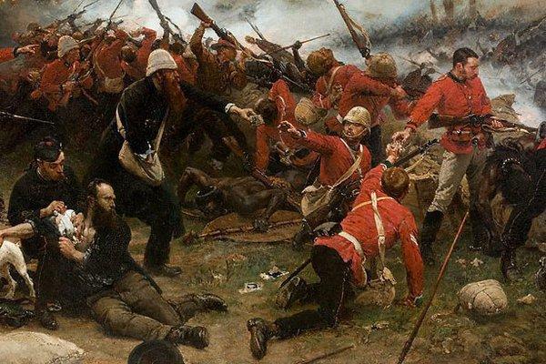 Alternate image of The defence of Rorke's Drift 1879 by Alphonse de Neuville