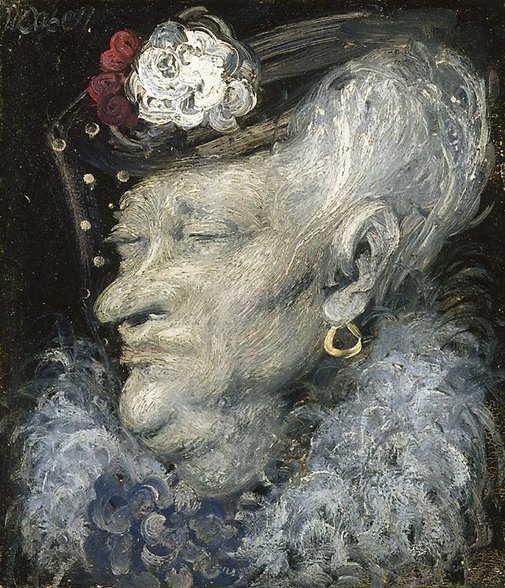 An image of Mrs South Kensington by William Dobell