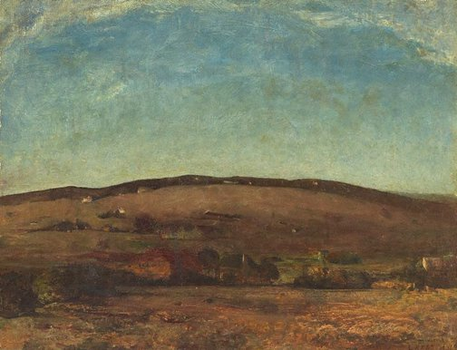 An image of Evening landscape, Orange by Lloyd Rees
