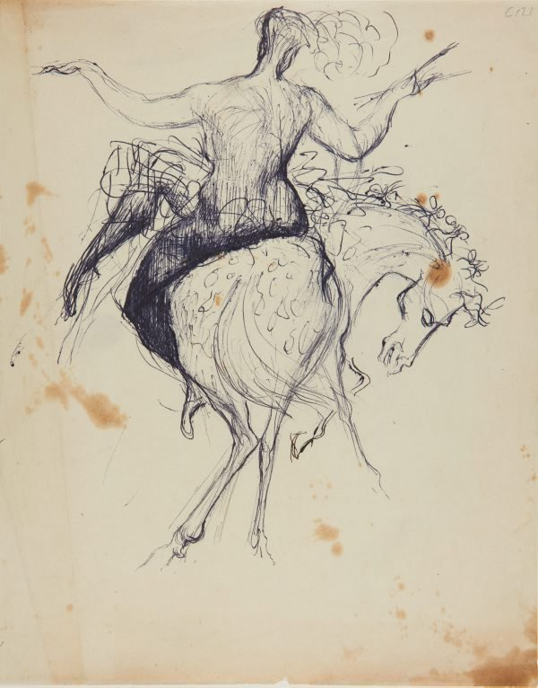 An image of (Circus rider) (Early Sydney period)